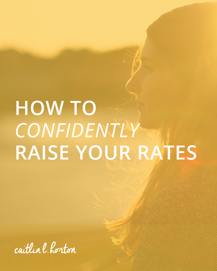 Horton Brand Strategy How to Confidently Raise Your Rates
